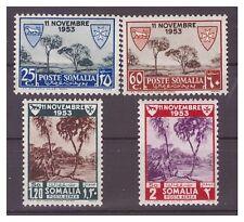 SOMALIA AFIS 1954 - LEBBROSARI  PO + PA  Serie  Nuova **