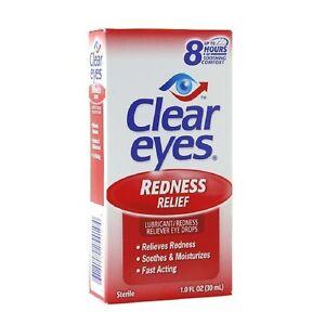 Clear Eyes Redness Relief Eye Drops 1oz