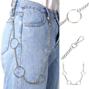 65cm-Long-Keyring-Chain-Hipster-Pant-Jean-Wallet-Belt-Ring-Clip-Punk-Hip-HopP0ZS