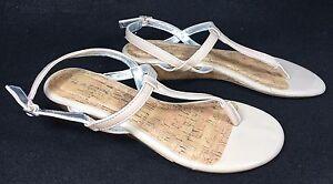 a347f96a9e56 Rampage Celery Women s Wedge Patent Strappy Sandal Nude Blush Tan ...