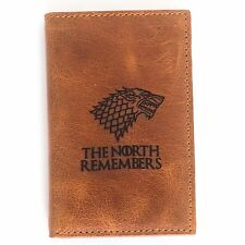Game Of Thrones Real Leather Credit ID Business Card Holder The North Remembers