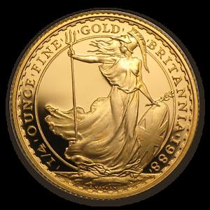 1988-Great-Britain-1-4-oz-Proof-Gold-Britannia-SKU-64075