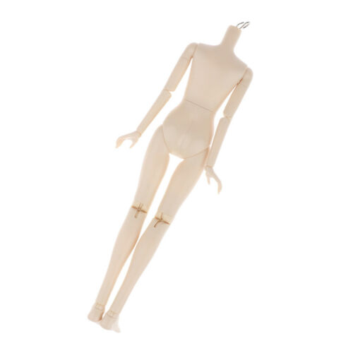 1//4 BJD Modern Girl Nude Doll Body without Head DIY Replacement Little Chest