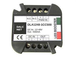 Dalcnet-Easy-Booster-Led-Verstaerker-Signal-PWM-DC-12V-48V-CC-500mA-DLA1248-1