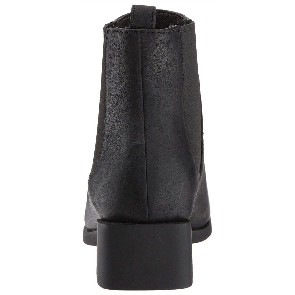 Camper Women NEW Kobo Chelsea Bootie Black Black Black Leather Slip On Comfort Boots 2f74cc