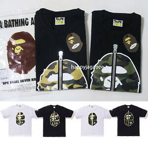 A-BATHING-APE-Men-039-s-1ST-CAMO-2ND-APE-TEE-4colors-From-Japan-New