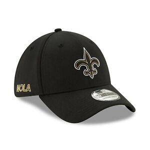 New Orleans Saints New Era NFL Draft 39Thirty Flex Fit hat cap M/L