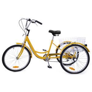 7-Speed-24-034-3-Wheel-Adult-Tricycle-Bicycle-Trike-Cruise-Bike-W-large-Basket