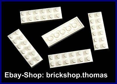 Lego Platte 2x6 new Grau 5 Stück 398