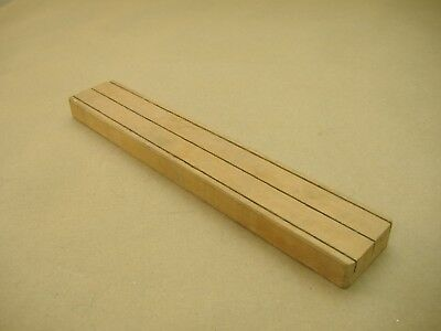 Mirro Slotted Wood Storage Tray holds Forming Plates /& Tips for Cookie Press