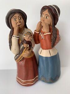 DernièRe Collection De Vintage Peru Poterie Argile Figurine Sifflet Ocarina Hand Crafted Péruvien-afficher Le Titre D'origine