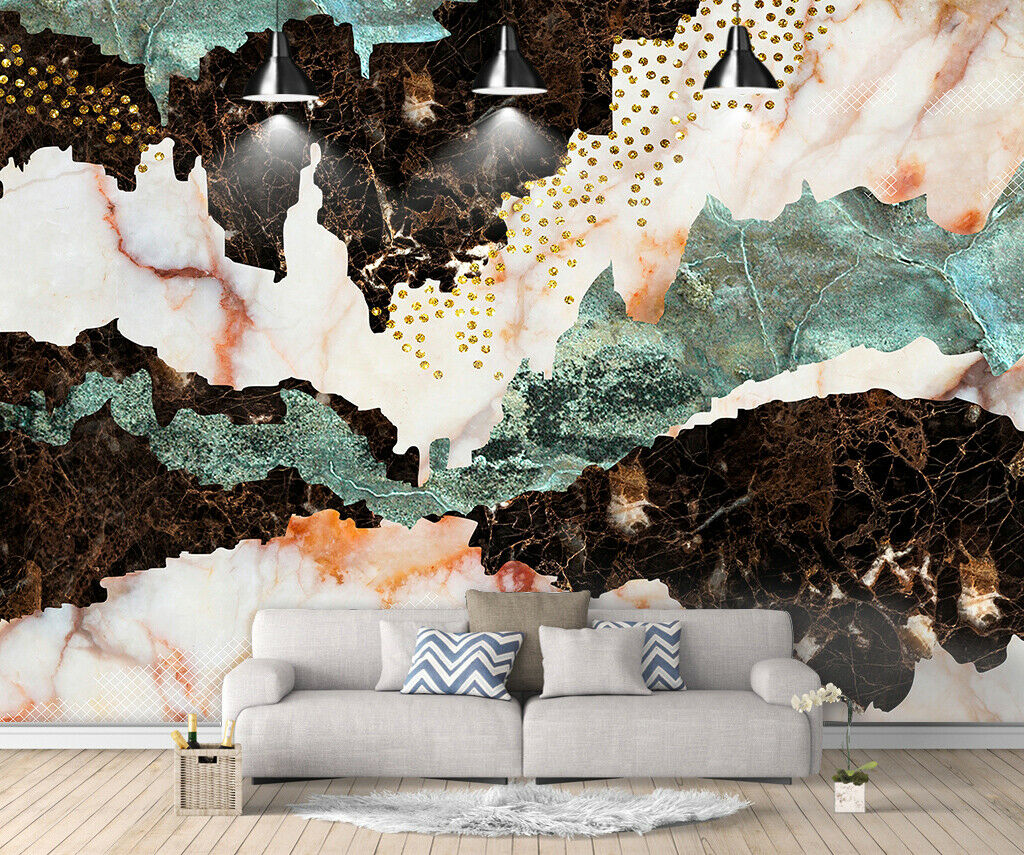 3D Marble Pattern I256 Wallpaper Mural Sefl-adhesive Removable Sticker Wendy