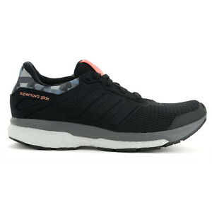 Adidas-Women-s-Supernova-Glide-8-GFX-Boost-Black-Running-Shoes-AQ5058-NEW