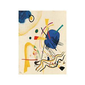 Wassily Kandinsky- Untitled Quadro Pronto con Stampa Fine Art per ...
