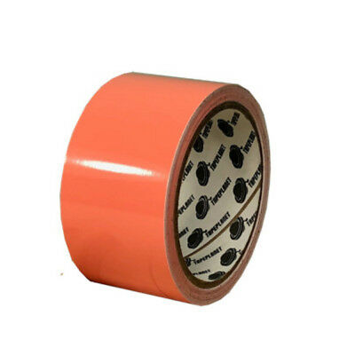 Tape Planet 3 mil 2 inch x 10 yards Orange Outdoor Vinyl Tape