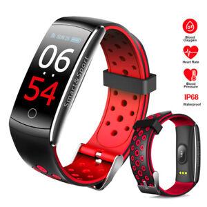 Bluetooth Sport умные часы артериального давления пульса монитор для IOS Android