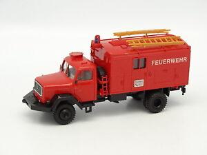Preiser-1-87-HO-Magirus-Fourgon-Feuerwehr-112-Pompiers