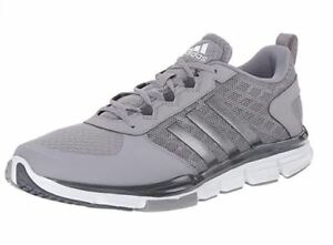 2952962d Details about Adidas Mens Performance Speed Trainer 2 Training Shoe, Light  Grey/White, Size 4.