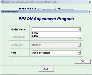 Details about RESET EPSON ILIMITADO + GENERATOR FULL KEYGEN L395 L495  Compatible W7, W8, W10