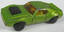 VTG Original 1972 Matchbox Superfast No 9 AMX Javelin Lime Green