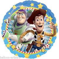 """18"""" Disney Pixar Toy Story BUZZ & WOODY Round Foil Balloon"""