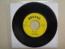 """HAZARDS: Hey Joe 3:02- Will You Be My Girl 3:00-U.S. 7"""" 1967 Groove RI 2436, VA."""