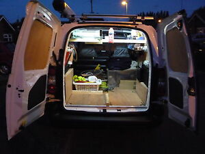 Citroen Berlingo 2 Peugeot Partner 2 Van Rear Interior LED Loading ...
