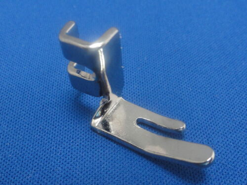 DOMESTIC SEWING MACHINE LOW SHANK SCREW ON SOLID STRAIGHT FOOT FITS SINGER~JONES