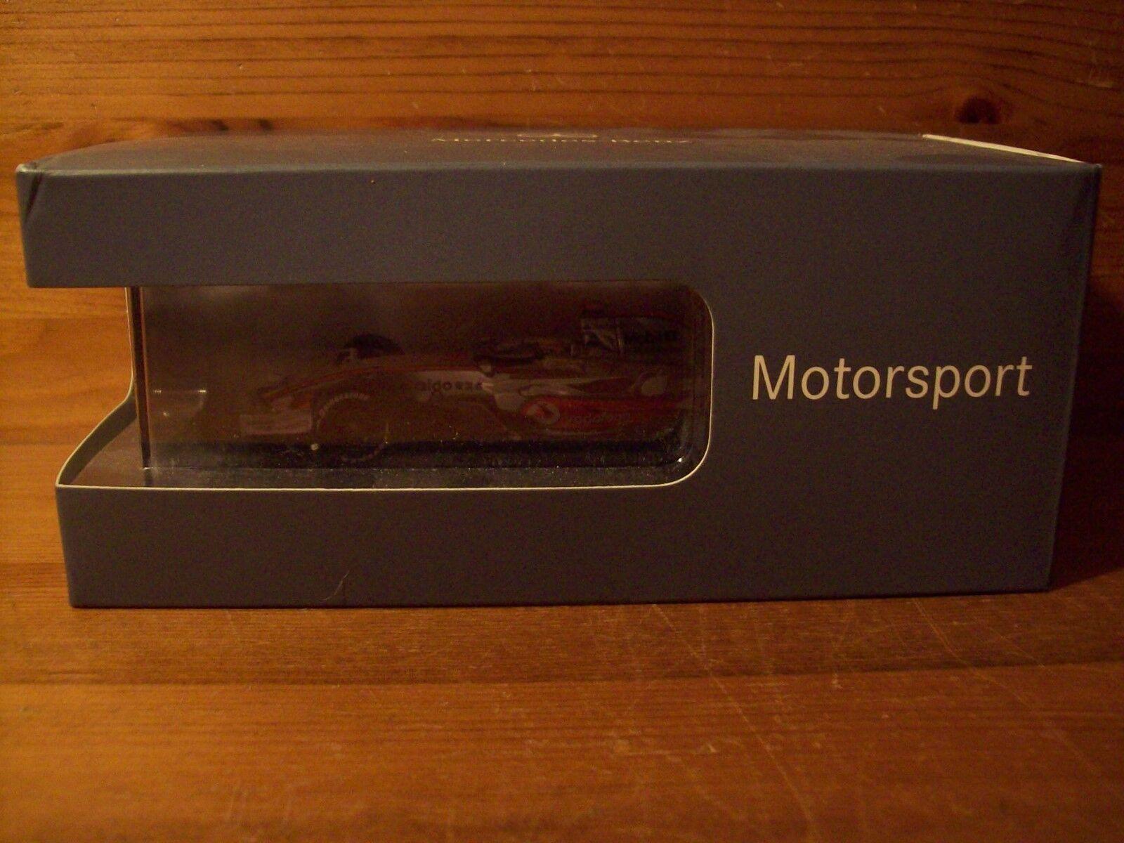 1 43 McLAREN MERCEDES MP4 23 LEWIS HAMILTON MERCEDES BOX 2008 WORLD CHAMPION