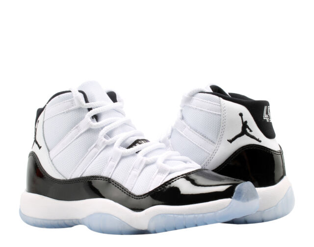 76d064fd73d0 Nike Air Jordan 11 Retro (GS) Concord Big Kids Basketball Shoes 378038-100