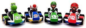 Nintendo-Mario-Kart-8-Pull-Back-Action-amp-Velocita-Auto-in-vari-personaggi
