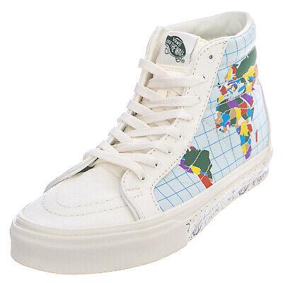 Vans ua sk8 hi reissue save our planet classic white multi sneakers alte | eBay