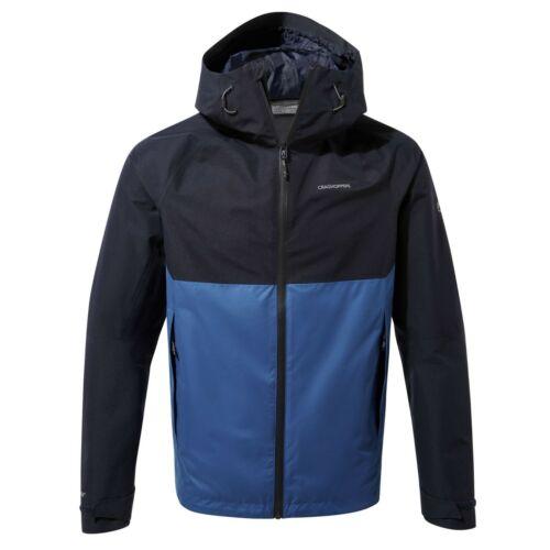 Craghoppers Mens Gents Caleb GORE-TEX Waterproof Navy//Blue Jacket Coat CMW770
