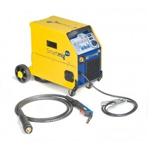 new gys 2 in 1 gas gasless mig welder smartmig 162 ebay. Black Bedroom Furniture Sets. Home Design Ideas