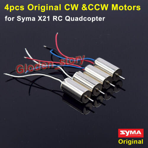 4PCS CW CCW Main Motor Engine Spare Parts For Syma X21 X21W RC Quadcopter Drone