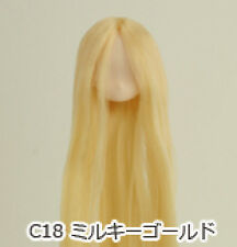Obitsu Doll 11cm hair implantation head for Whity body (11HD-F01WC18) M Gold