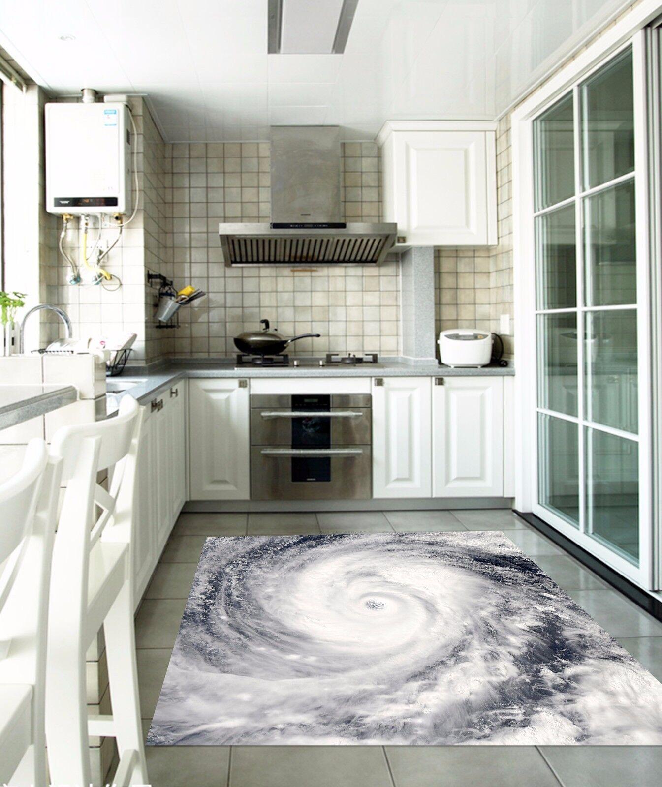 3D Sea Vortex 03 Kitchen Mat Floor Murals Wall Print Wall Deco AJ WALLPAPER AU