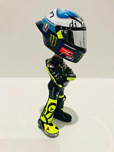 1:12 + 1:5 Conversion Minichamps Figure Figurine Valentino Rossi 2020 Misano NEW
