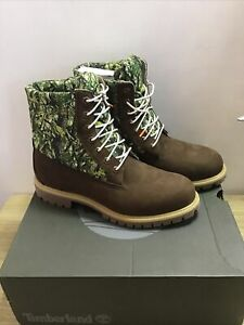 Timberland-6in-Premium-Waterproof-Puffer-Camo-Mens-Boots-Size-UK-9-5-EU-44