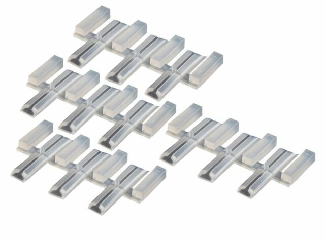 Peco Code CODE 100 12 Insulated Joiners Molded in Nylon SL-11 1-10 freight $2.50