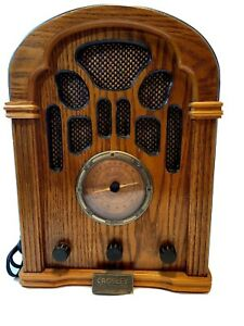USED-Crosley-Collectors-Edition-Radio-With-Cassette-Player-Model-1940A-works