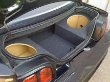 "94-04 Ford Mustang Convertible Custom Subwoofer Enclosure Sub Box - (2 12"" Subs)"