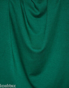 Emerald-Green-Micro-Modal-Spandex-Fabric-4-Way-Stretch-Jersey-Knit-by-Yard