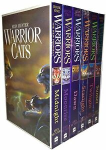 Warriors-Cats-Series-2-6-Books-Young-Adult-Collection-Paperback-By-Erin-Hunter