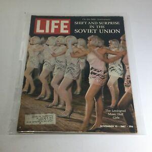 15 LIFE Magazine November 10 1967~Leningrad Music Hall Girls~Soviet Union ~Ads