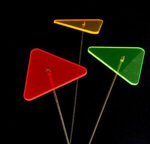 3er Set Sonnenfänger//Suncatcher  Herz  8 cm Edelst Schwingstab LISA Acryl 32cm