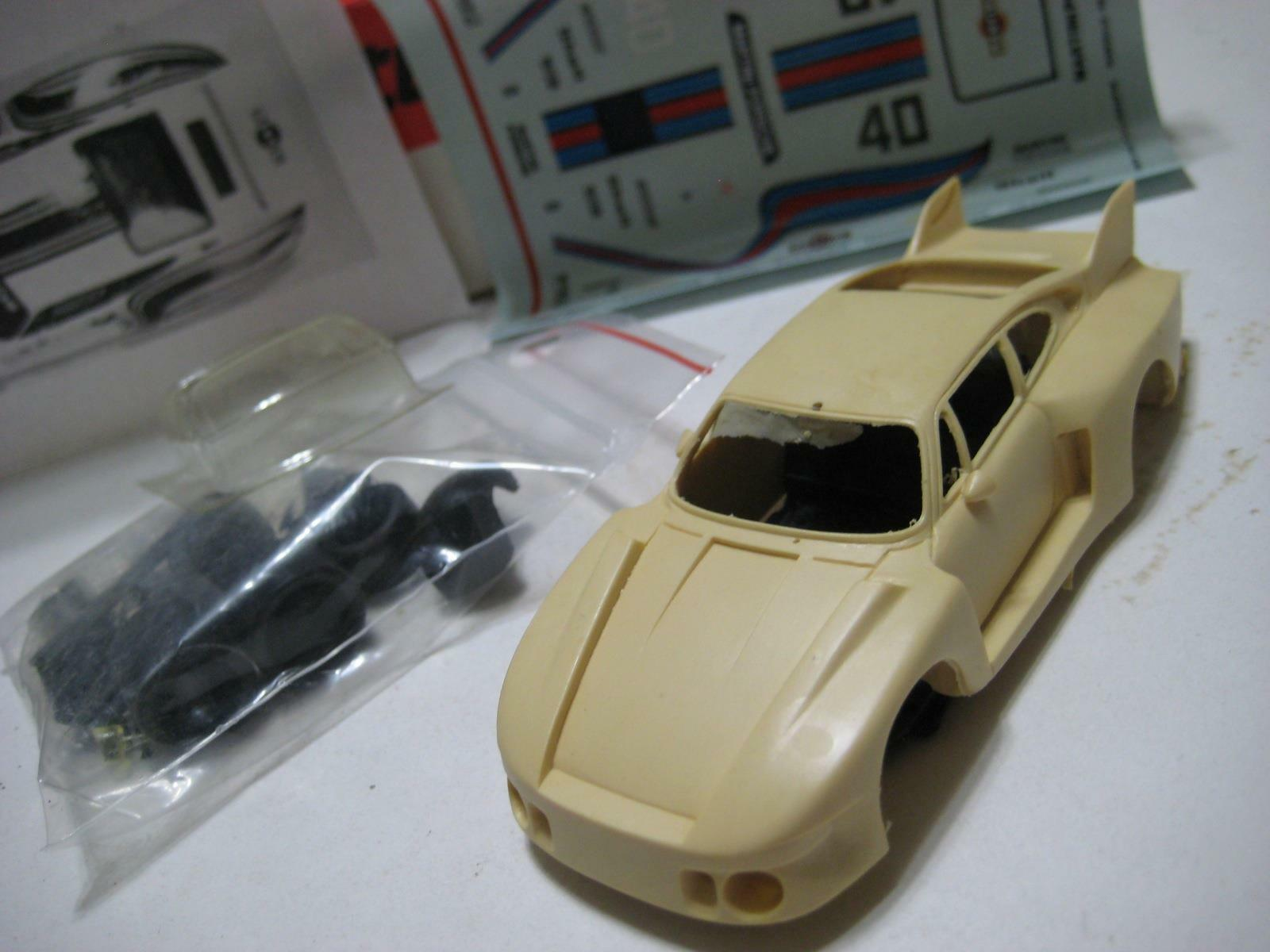 Starter (France) Porsche 935 Baby (Martini) Hockenheim 1987 Resin Kit 1 43 NIB