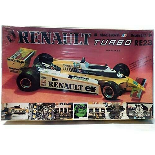 Jets Prossoar Renault Turbo RE23 Turbo Rare Kit Scala 1 12  MOD. 170P