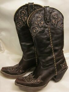Crush-by-Durango-Western-Boots-12-034-Westn-Brown-Size-6-5-USA-4-5-UK-EU-38M