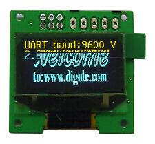 "0.96"" Serial:UART/I2C/SPI 12864 OLED Module,Yellow/Blue,for Arduino/PIC/AVR"